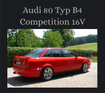 Audi 80 Typ B4 Competition 16V